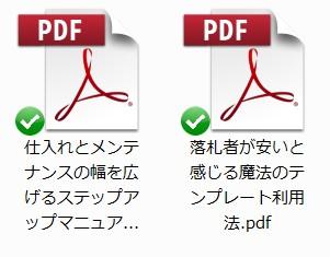 訳アリ★イリュージョン特典レポート